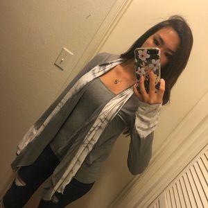 Sweaters - Tie dye cardigan